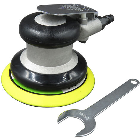 Meuleuse de papier de verre pneumatique 5 pouces machine de cirage de voiture broyeur pon?age polissage machine broyeur a sec KP-6504