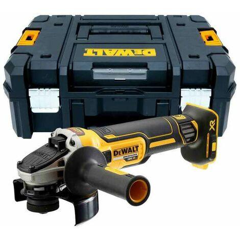 Meuleuse DEWALT 1400W 125mm avec interrupteur à palette - DWE4233