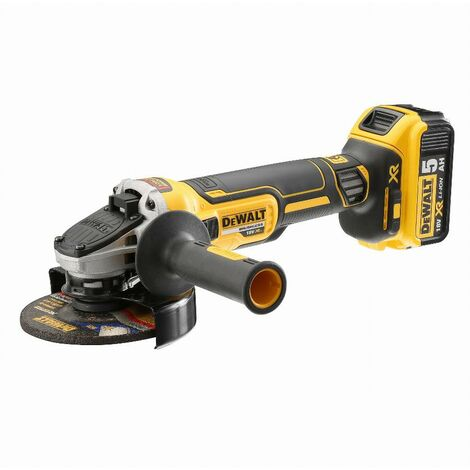 Meuleuse DEWALT Brushless XR Ø125 mm - 2 batteries 5.0Ah 18V - DCG405P2