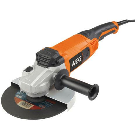 Meuleuse électrique AEG 2200W 230mm WS 22-230 D-SET
