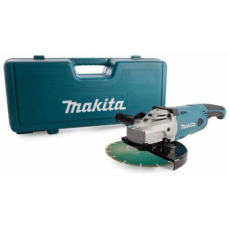 Meuleuse MAKITA 2200W Ø 230 MM - GA9020KDX2 - Coffret + disque