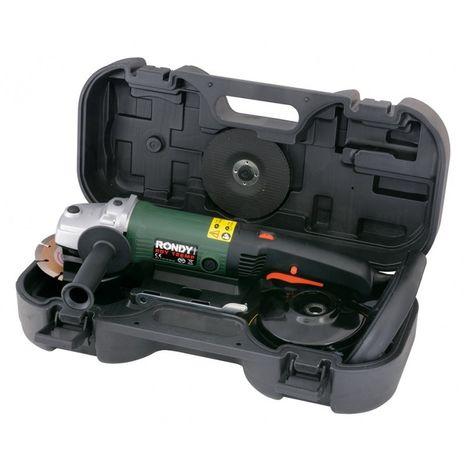 Meuleuse - Polisseuse - Ponceuse 125 mm 7 en 1 type RDY 126MP - RONDY