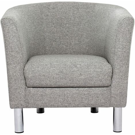 "main image of ""Mex Grey Armchair"""