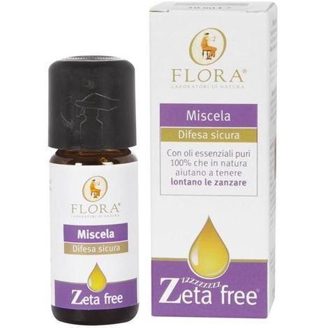 Mezcla aceites esenciales antimosquitos Flora 10 ml