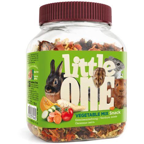 Mezcla de verduras en un tarro para roedores 150 g