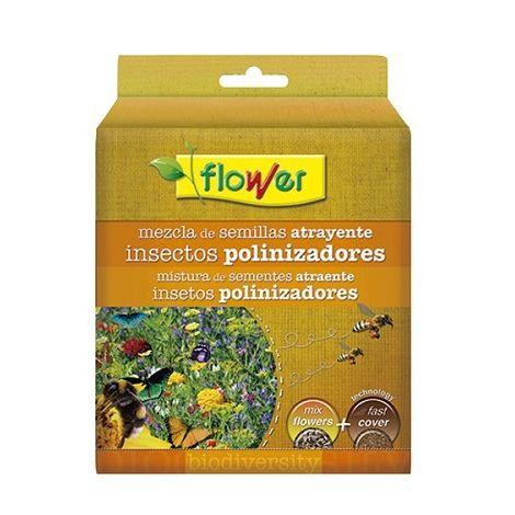 Mezcla Semillas de Flores Atrayentes Polinizado con Sustrato Fast Cover FLOWER - 500 gr