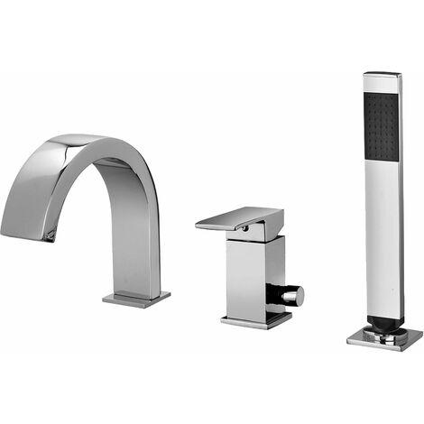 Mezclador de bañera con desviador Paffoni ELLE EFFE EF-EL040