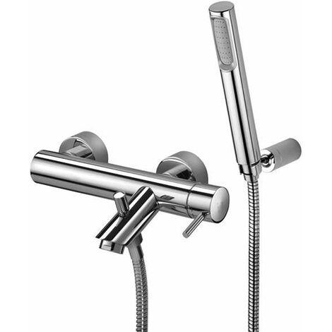 Mezclador de baño externo con dúplex Paffoni Light LIG023