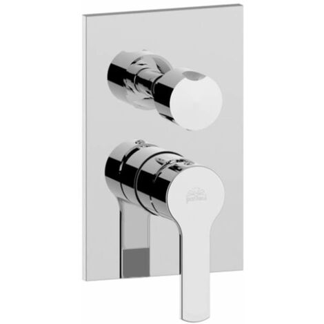 Mezclador de ducha con desviador giratorio Paffoni Ringo-West RIN018-WS018