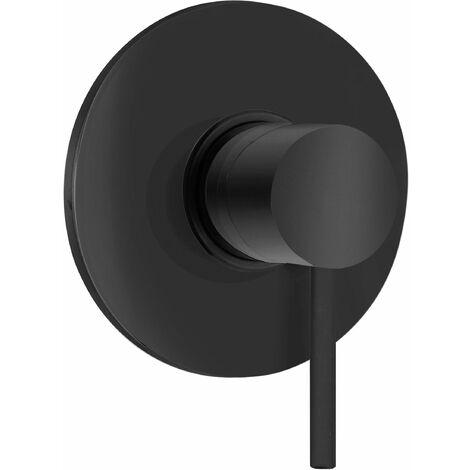 Mezclador de ducha empotrado 1 salida Piralla Iseo 0SUYO410A19 | Negro mate - 1 SALIDA