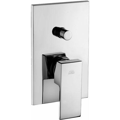 Mezclador de ducha empotrado con desviador Paffoni ELLE EFFE EL015-EF015