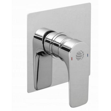 Mezclador de ducha empotrado de 1 función