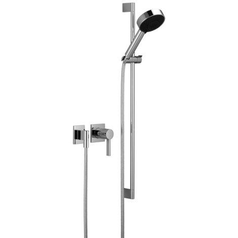 Mezclador de ducha empotrado de Dornbracht IMO Mezclador monomando con roseta individual y kit de ducha, kit de montaje final 36010670 - 36010670-00
