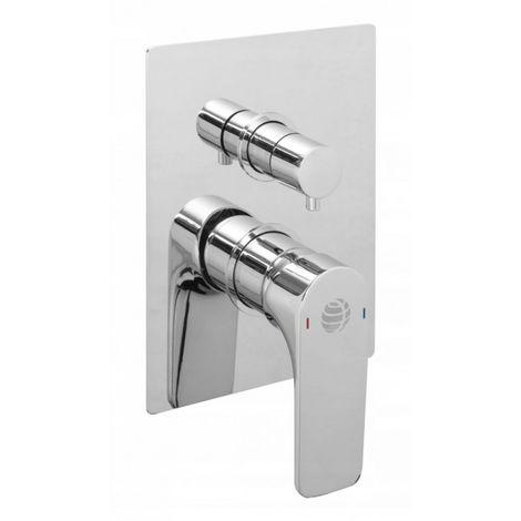 Mezclador de ducha empotrado senja 2 funciones