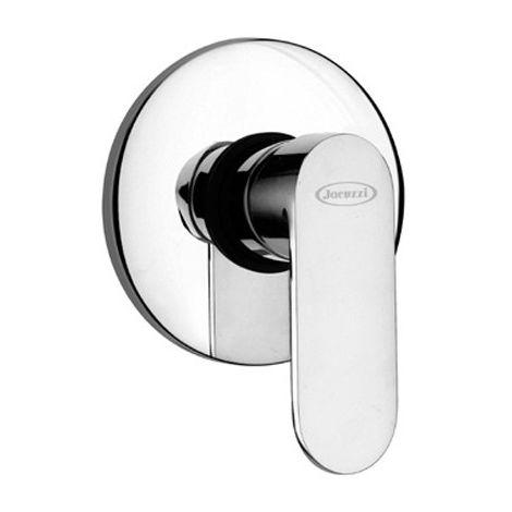 Mezclador de ducha empotrado sin desviador Jacuzzi Rubinetteria Borea 0BO00410JA00   Cromo - 1 Salida