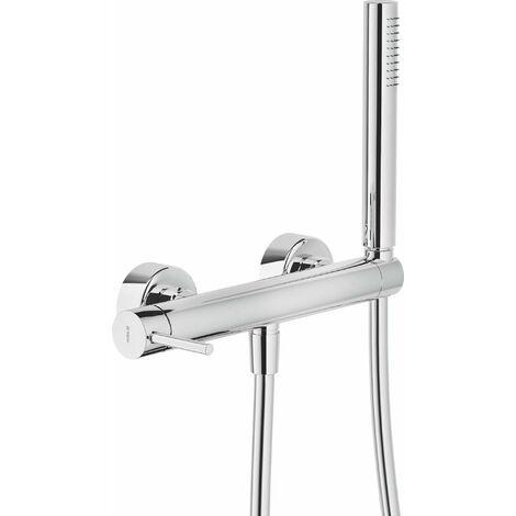 Mezclador de ducha externo con set de ducha Nobili Acquerelli AQ93130/1CR | Cromo
