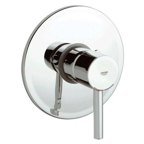 Mezclador de ducha Grohe Essence con una mano, rosetón redondo, color: cromado - 24057001