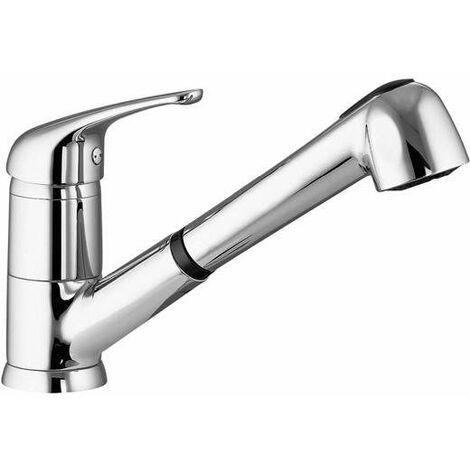 Mezclador de fregadero con ducha extraíble Gattoni Pesci 5612256