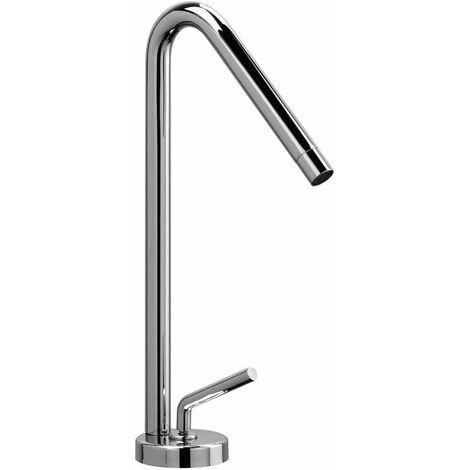 "Mezclador de lavabo alto Piralla Garda 0AS00488A19   Cromo - Desagüe 1""1/4 con tapon click-clack"