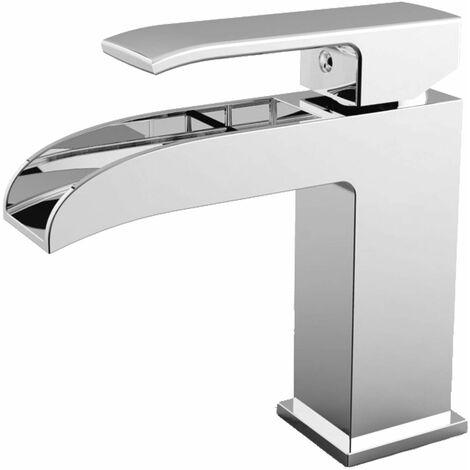 Mezclador de lavabo con caño en cascada Paffoni Level LES061-LES065