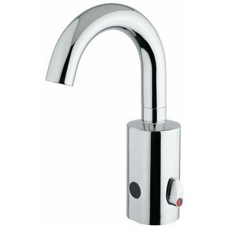 Mezclador de lavabo electrónico con control de fotocélula Idral Curve 02504-02504/R