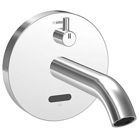 Mezclador de lavabo Hansa Hansapublic E electronic para montaje en pared - 41812111