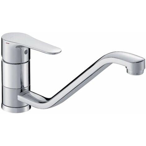 mezclador de lavabo JULet con vidage mixte, cromo , JACOB DElaFON, ref. E16027-4-CP