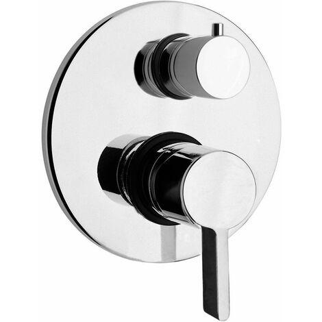 Mezclador ducha empotrado Piralla Abbracci 0BR00400A16 | Cromo