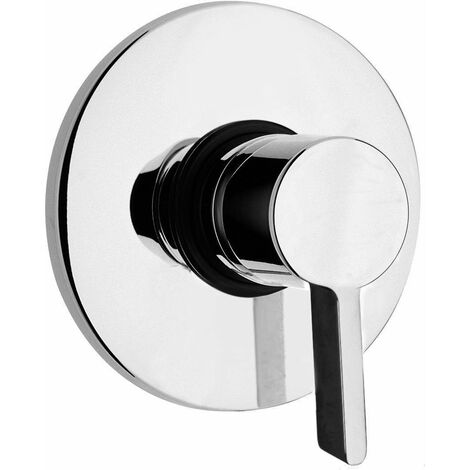 Mezclador ducha empotrado Piralla Abbracci 0BR00410A16 | Cromo - 1 SALIDA