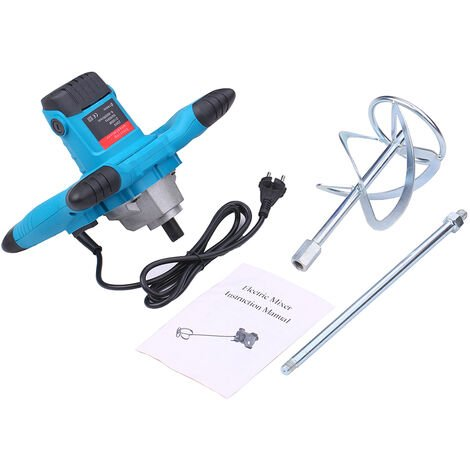 Mezclador electrico de mano 220V 2100W, Mezclador de cemento electrico