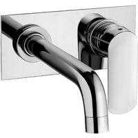 Mezclador empotrable para lavabo Paini Nove 09CR208P