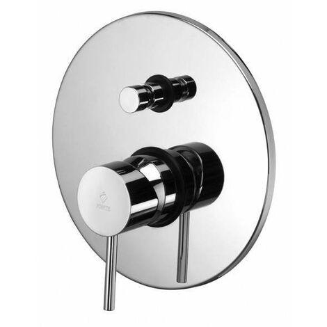 Mezclador empotrado con desviador 2 salidas Paffoni LIGHT LIG015