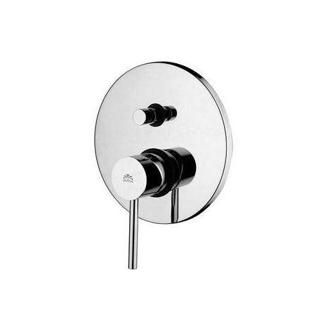 mezclador empotrado para ducha con desviador Paffoni STICK SK015