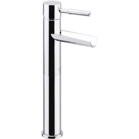 Mezclador lavabo à cascada con caño alto y desagüe automático Fiore Xenon 44CR5264 | Cromato