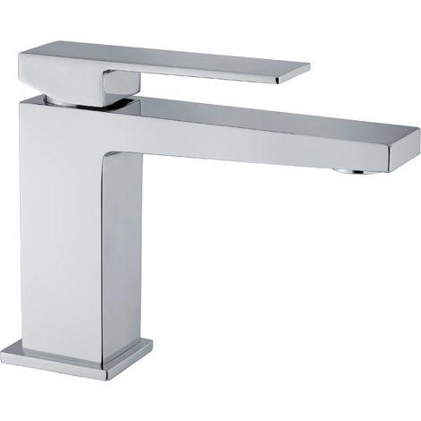 Mezclador lavabo sin desagüe Fiore Kube 100CR8516 | Cromato