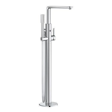 Mezclador lineal Grohe para bañera con una sola mano, montado en el suelo, proyección 271mm, color: cromado - 23792001
