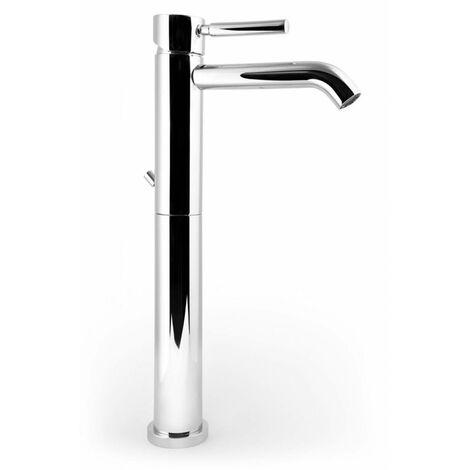 Mezclador monocomando lavabo alto con Desagüe POLLINI ACQUA DESIGN JESSY JE211CR