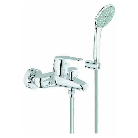 Mezclador monomando de bañera Grohe Eurodisc-Cosmopolitan DN 15, de pared, con kit de ducha - 33395002