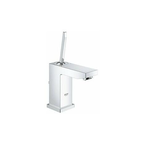 Mezclador monomando de lavabo Grohe Eurocube Joy S-Size, montaje de un solo orificio, con kit de desagüe - 23654000
