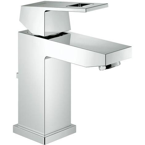 Mezclador monomando de lavabo Grohe Eurocube, tamaño S, con desagüe, sin limitación de caudal - 23127000