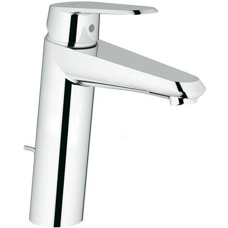 Mezclador monomando de lavabo Grohe Eurodisc-Cosmopolitan DN 15, tamaño M, montaje de un orificio, con desagüe automático - 23448002