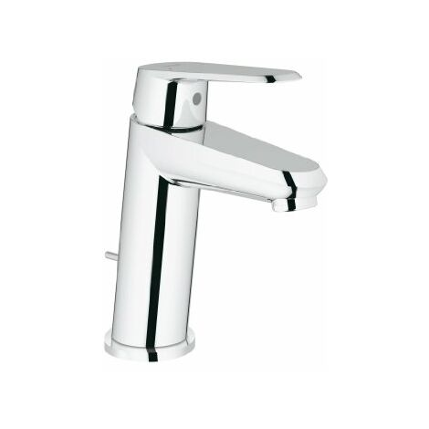 Mezclador monomando de lavabo Grohe Eurodisc-Cosmopolitan DN 15, tamaño S, con grifería de desagüe - 23049002