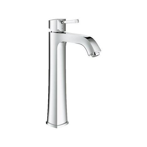 Mezclador monomando de lavabo Grohe Grandera DN 15, tamaño XL, para lavabos independientes, sin desagüe automático, color: cromado - 23313000