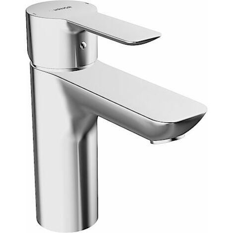 Mezclador monomando de lavabo Hansa Hansaligna 0613, conexión mediante tubos de cobre, cromado para calentadores de agua abiertos - 06131103