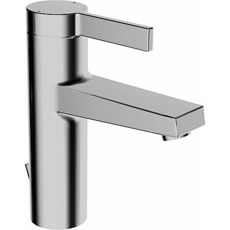 Mezclador monomando de lavabo Hansa Hansaloft 5754, conexión mediante tubos flexibles de presión, cromados - 57542203