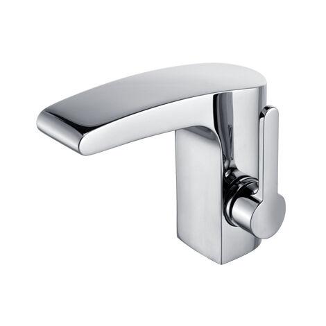 Mezclador monomando de lavabo Keuco Elegance 51602, sin desagüe, cromado - 51602010100