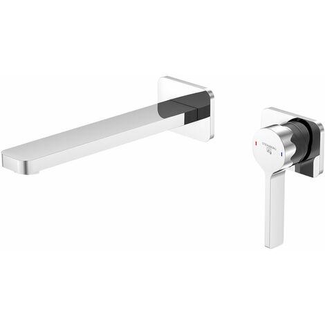 Mezclador monomando de lavabo Steinberg Serie 230 con cartucho cerámico, proyección de 200 mm - 2301815
