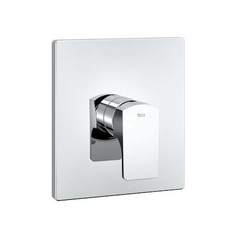 "Mezclador monomando L90 empotrable de 1/2"" para baño-ducha. A completar con RocaBox 525869403"