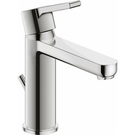 Mezclador monomando lavabo M Duravit B.2, con desagüe automático, 139mm de proyección - B21020001010