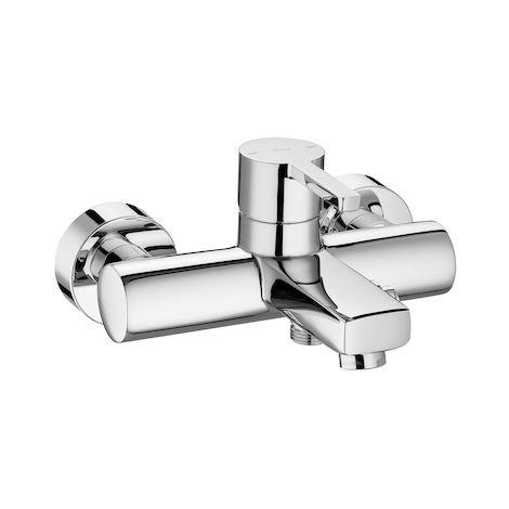 Mezclador monomando Naia exterior baño-ducha con inversor automático